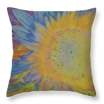 Sunglow Throw Pillow