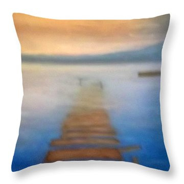 Sunken Dreams Throw Pillow