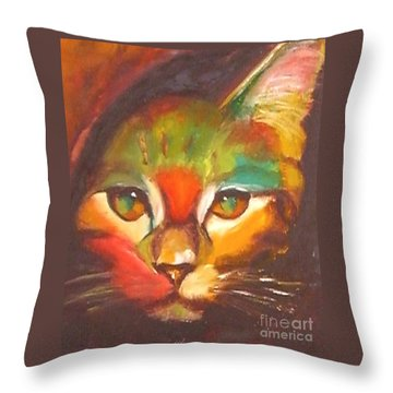 Sunkist Throw Pillow
