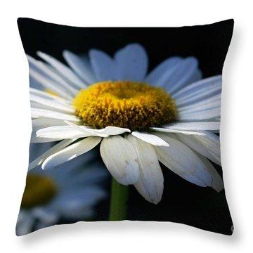 Sunlight Flower Throw Pillow by John S