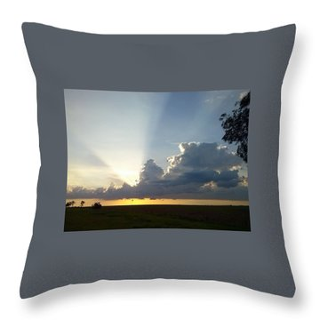 Sunlights Throw Pillow
