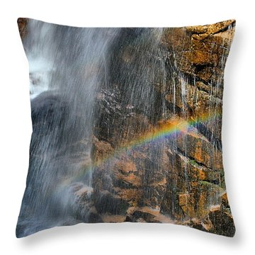 Sunlight's Mirage Throw Pillow