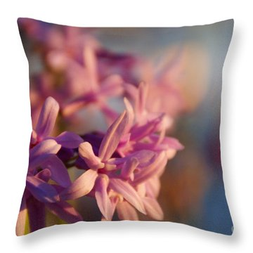 Sunlit Dream Throw Pillow