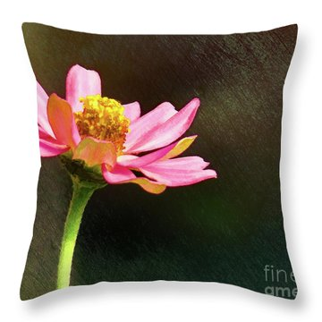 Sunlit Uplifting Beauty Throw Pillow by Sue Melvin