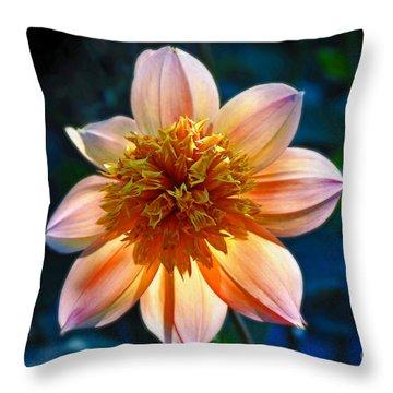Sunlite Dahlia  Throw Pillow