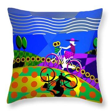Sunny Acres Throw Pillow