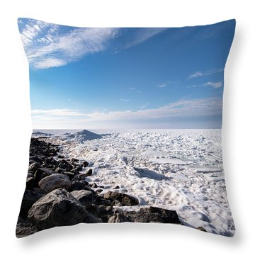 Throw Pillow featuring the photograph Sunny Afternoon by Onyonet  Photo Studios