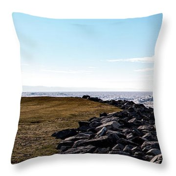 Throw Pillow featuring the photograph Sunny Afternoon-t1 by Onyonet  Photo Studios