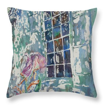 Sunny Day At Brandywine Throw Pillow