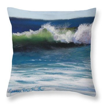 Sunny Day Throw Pillow by Jeanne Rosier Smith