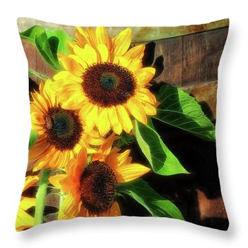 Sunny Delight Throw Pillow