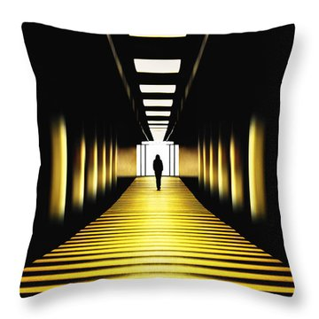 London Tube Throw Pillows