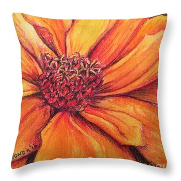 Sunny Perspective Throw Pillow
