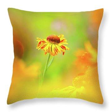 Sunny Spirit Throw Pillow