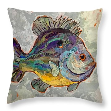 Sunnyfish Throw Pillow