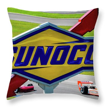 Sunoco Throw Pillow