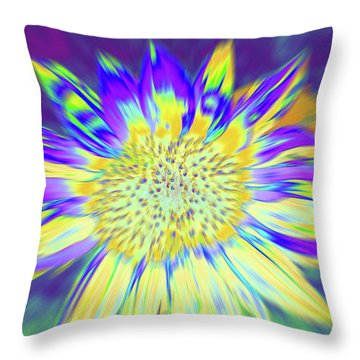 Sunpopped Throw Pillow
