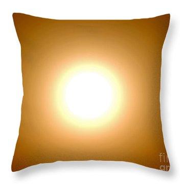 Sunpower Throw Pillow