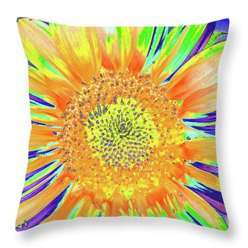 Sunrazzler Throw Pillow