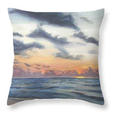 Sunrise 02 Throw Pillow