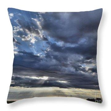 Sunrise 10-17-15 Throw Pillow
