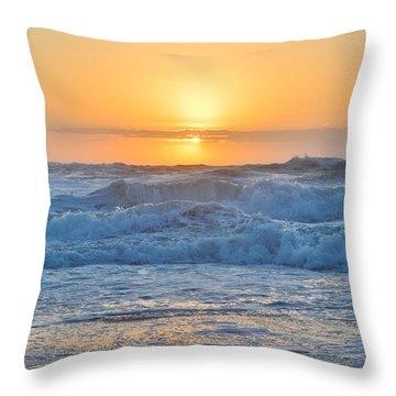 Sunrise 18th Of June Throw Pillow