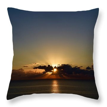 Sunrise 2 Throw Pillow
