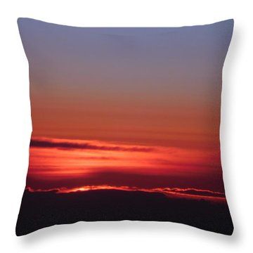 Sunrise A Different View Throw Pillow