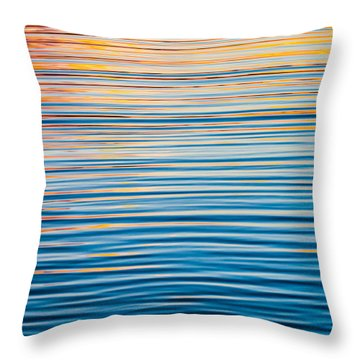 Sunrise Abstract  Throw Pillow by Parker Cunningham