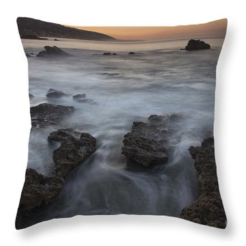 Sunrise At Laguna Beach II Throw Pillow