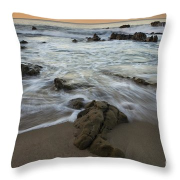 Sunrise At Laguna Beach Throw Pillow