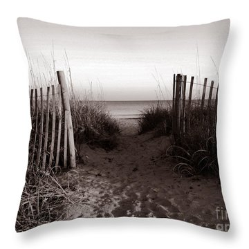 Sunrise At Myrtle Beach Sc Throw Pillow