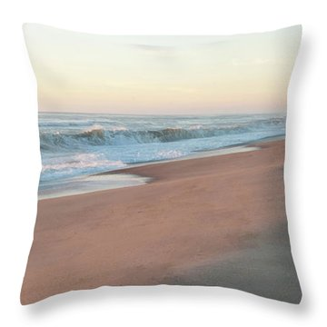 Sunrise At Nauset Throw Pillow