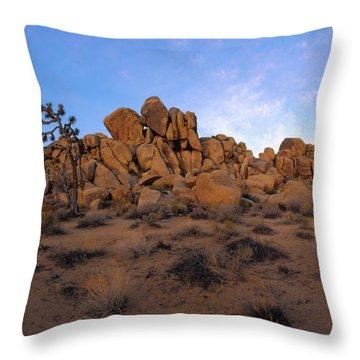 Sunrise At Quail Springs Throw Pillow