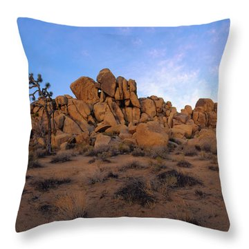 Sunrise At Quail Springs Throw Pillow