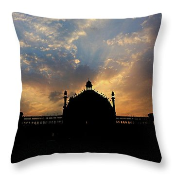 Sunrise At Rumi Gate Throw Pillow