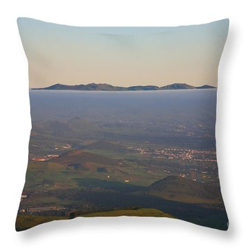 Sunrise At Sao Miguel Island Throw Pillow by Gaspar Avila