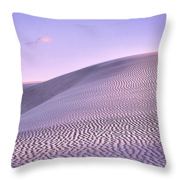 Sunrise At White Sands Throw Pillow