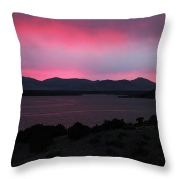 Sunrise At Yuba Lake Throw Pillow by Dan Pearce