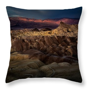 Sunrise At Zabiskie Point Throw Pillow