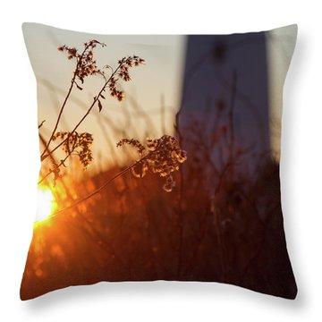 Sunrise Backlight Throw Pillow