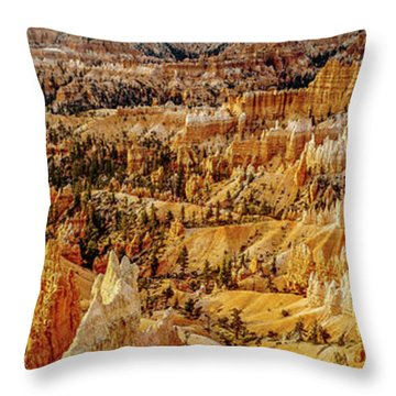 Sunrise Bryce Canyon Throw Pillow