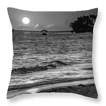 Sunrise  Throw Pillow by Bulik Elena