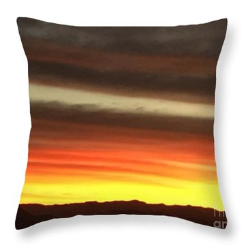 Sunrise Collection #1 Throw Pillow