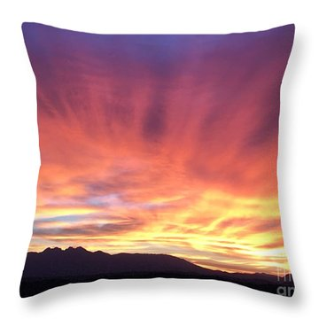 Sunrise Collection #2 Throw Pillow