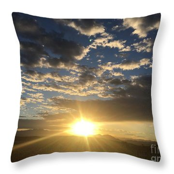 Sunrise Collection #3 Throw Pillow