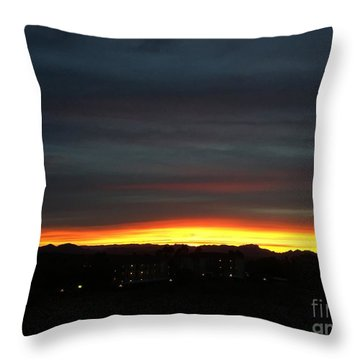 Sunrise Collection, #5 Throw Pillow