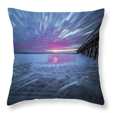 Sunrise Color Throw Pillow