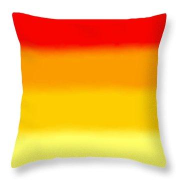 Sunrise - Sq Block Throw Pillow