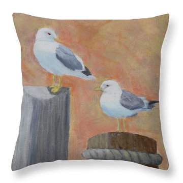 Sunrise Delight Throw Pillow